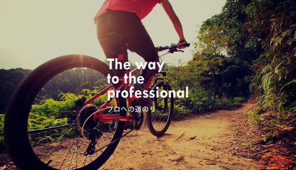 The way to the professional