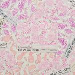 ネオンピンク印刷の見本